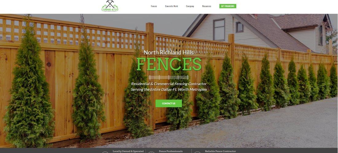 North Richland Hills, Texas Fence Company: Lonnie & Co Fence Company